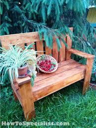 114 best free garden bench plans images on pinterest garden