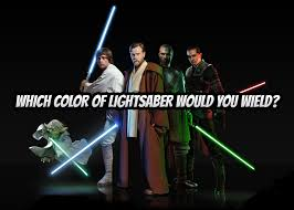 Light Saber Color Meanings Which Color Of Lightsaber Would You Wield