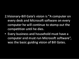 A Computer On Every Desk And In Every Home Leadership Style