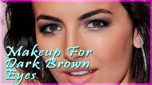makeup for dark brown eyes ideas and tricks how to make gorgeous makeup for dark brown eyes