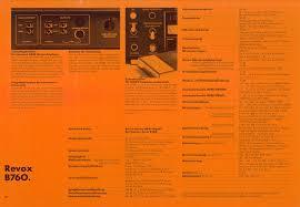 K Henkatalog Revox Katalog 1980