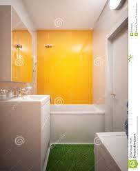 modern urban contemporary bathroom wc interior design stock