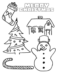 7 best images of free printable christmas coloring book free