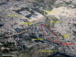 the royal palace of king david u0027s in old jerusalem just in time