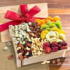 dried fruit gift dried fruit and nuts gift crate with lid ac2020 a gift inside