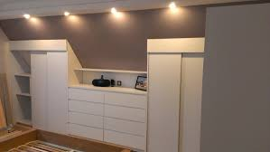 Meuble Mansarde by Chambre Ado Sous Pente Idee Dressing Chambre Dcoration Chambre