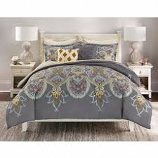 Cannon Comforter Sets Cannon 7 Piece Comforter Set U2013 Grey Medallion Shop Your Way
