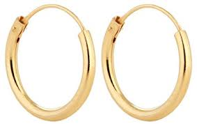 real gold earrings silver hoop earrings 18k gold plated sterling silver but looks