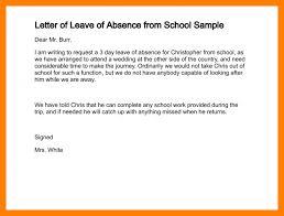 6 letter for leave of absence teller resume