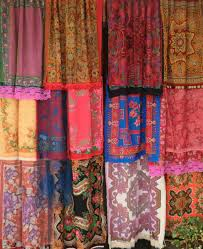Scarf Curtains Scarf Curtains Jungalowjungalow