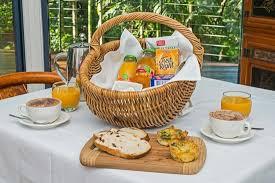 Breakfast Basket Continental Breakfast Basket Picture Of Pethers Rainforest