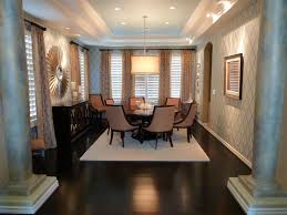 Ceiling Lights For Dining Room by Silver Gold Dining Room Traditional Decorating Ideas With Wood
