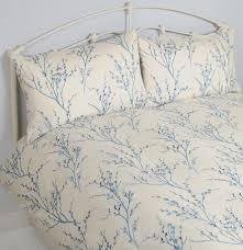 laura ashley willow double duvet cover set seaspray blue