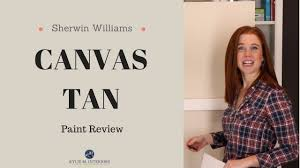 colour review sherwin williams canvas tan kylie m interiors