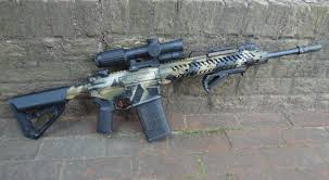 adams arms aa small frame 308 patrol battle rifle pbr 7 62mm