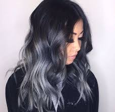 black grey hair best 25 black and silver hair ideas on pinterest black and grey