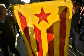 Independence Flag Infighting Threatens To Derail Catalan Separatists In Spain