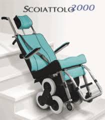 sedie per disabili per scendere scale riabilitazione palermo centro ortopedico milo