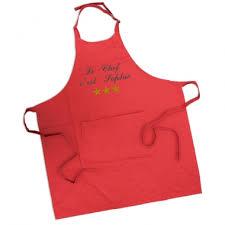 tablier de cuisine personnalisé brodé tablier de cuisine personnalisé avec prénom brodé amikado
