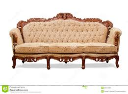 Wooden Sofa Chair Classical Carved Wooden Sofa Royalty Free Stock Images Image