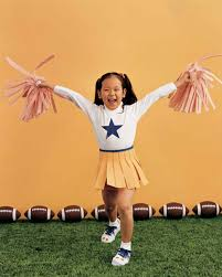 Cheerleader Costume Halloween Homemade Kids U0027 Halloween Costumes Martha Stewart