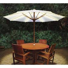 Patio Table And Umbrella Blue Brella Lights Patio Umbrella Lighting System With