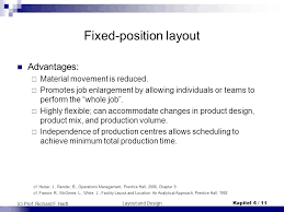 facility layout design jobs introduction fixed position layout job shop production i ppt video