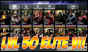 vii android hack personagens lvl 50 elite vii injustice android