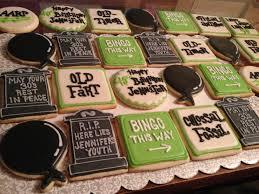 Halloween Sugar Cookie Ideas by 50th Birthday Cookies Cookies Pinterest Birthday Cookies
