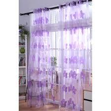 Purple Sheer Curtains Purple Sheer Curtains Amazing Purple Sheer Curtain Embellished