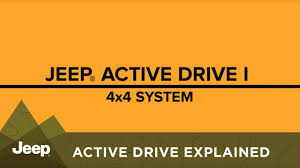 jeep compass 4x4 system jeep active drive 4wd system explained