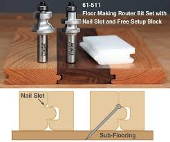 tongue and groove flooring bits infinity tools
