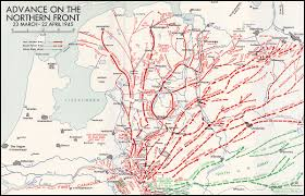 Northern Canada Map Hyperwar The Victory Campaign The Operations In North West