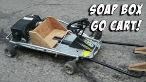 box cart soap box go cart youtube