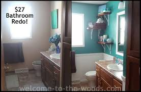 redone bathroom ideas bathroom redo for only 27 hometalk