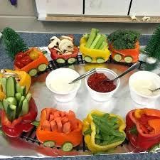 kids party snacks kid friendly veggie shooters kids party food