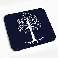 the lord of the rings tree of gondor mouse pad hobbit shop