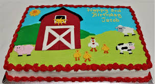 animal cakes 1 farm animals