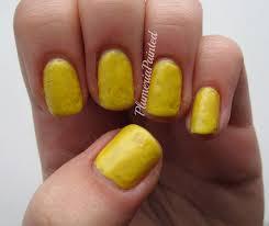 plumeriapainted yellow nails rimmel sunshine