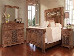 Pine Bed Set Imperial Bedroom Set Katy Furniture