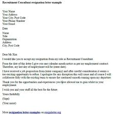 resignation letter format marvelous sample how to write your