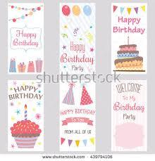 happy birthday invitation cardbirthday greeting cardwelcome stock