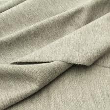 sweater fabric light organic sweater knit fabric grey marl gots certified