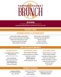 menu for brunch brunch menu tysons corner founding farmers