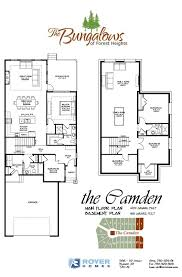 floor plans alberta the bungalows of forest heights beaumont alberta floorplans