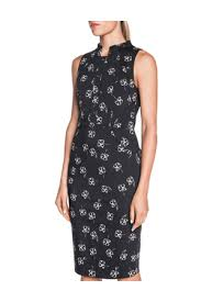 cue dress cue ink check pencil dress myer online