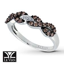 kay jewelers chocolate diamonds jared le vian ring chocolate diamonds 14k vanilla gold