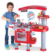 Kidkraft Kitchen Red - red play kitchen set home design ideas murphysblackbartplayers com