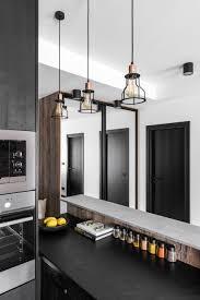 industrial modern kitchen industrial modern apartment in vilnius lithuania