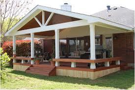 backyards bright covered decks 32 backyard deck and pool ideas